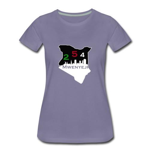 Mwenyeji Wa Kenya - Women's Premium T-Shirt