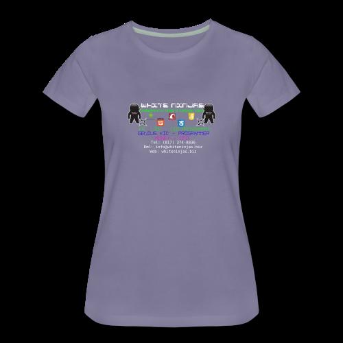White Ninjas - Women's Premium T-Shirt