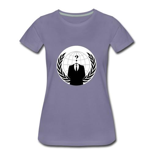 Anonymous Hacker - Women's Premium T-Shirt