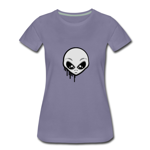 Martians From Mars Logo - Women's Premium T-Shirt