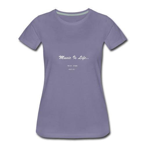 DJYO: Music is Life: MIL Club: Established in 1995 - Women's Premium T-Shirt