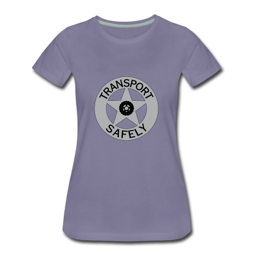 Transport Safely Logo - Women's Premium T-Shirt