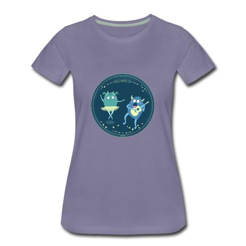 Celebrity monster couple - Women's Premium T-Shirt