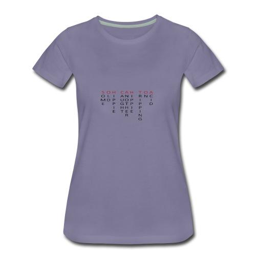 SOH CAH TOA - Women's Premium T-Shirt