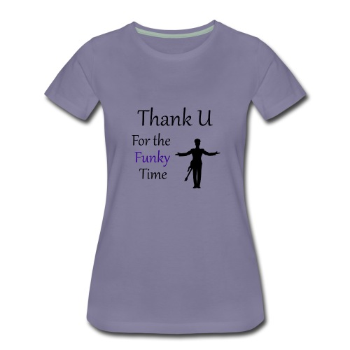 Prince - Darling Nikki Thank U for a Funky Time - Women's Premium T-Shirt