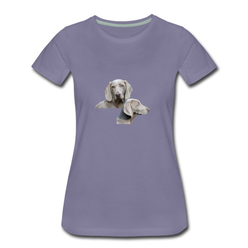 Weimaraner dog - Women's Premium T-Shirt
