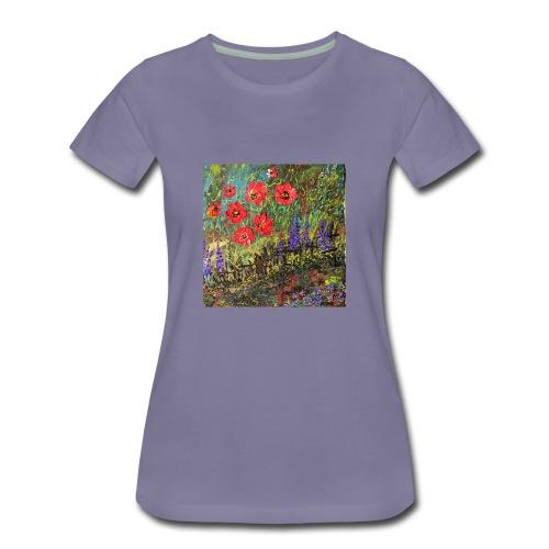 IMG 7260 Spring garden - Women's Premium T-Shirt