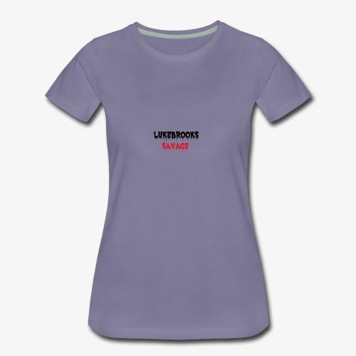 LukeBrooks#1SavageSpecial - Women's Premium T-Shirt