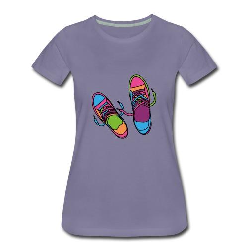 Hipster Shoes - Women's Premium T-Shirt