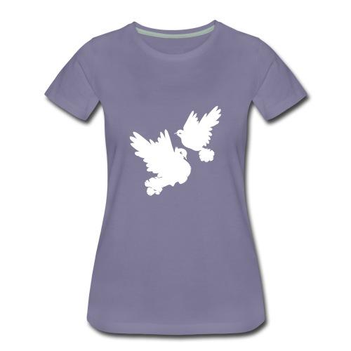 Pigeons and doves - Women's Premium T-Shirt