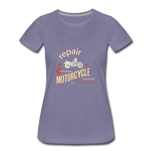 Motorcycle Repair - Women's Premium T-Shirt