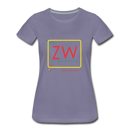 ZIMBO ELEMENT RATSA - Women's Premium T-Shirt