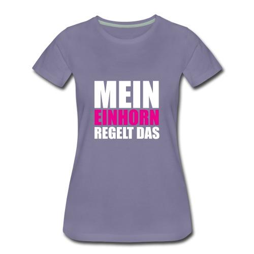 Mein Einhorn - Women's Premium T-Shirt