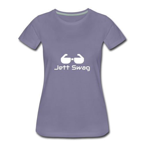 Jett Swag Sun Glasses White - Women's Premium T-Shirt