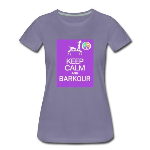 Keep Calm - Barkour - TSD - Women's Premium T-Shirt