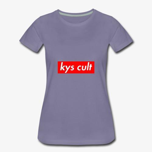 kys cult red - Women's Premium T-Shirt