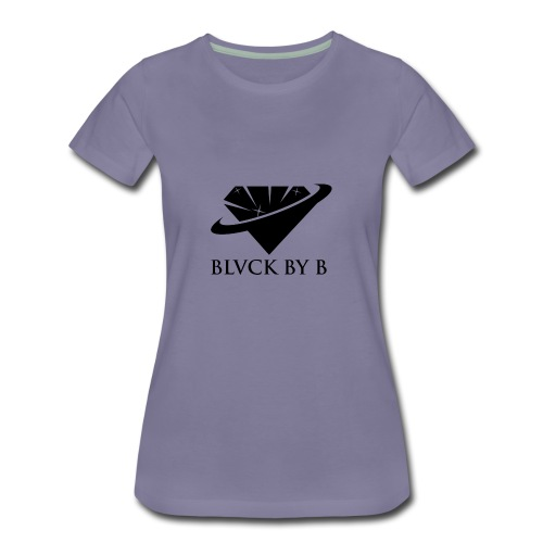 BLVCK BY B - Women's Premium T-Shirt