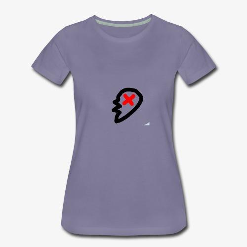 red x - Women's Premium T-Shirt