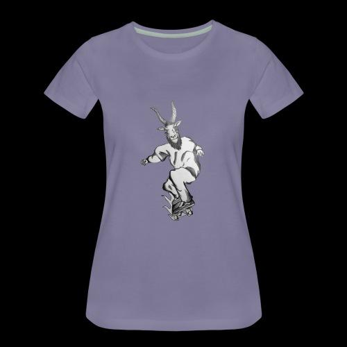 SKATEGOATT2 - Women's Premium T-Shirt