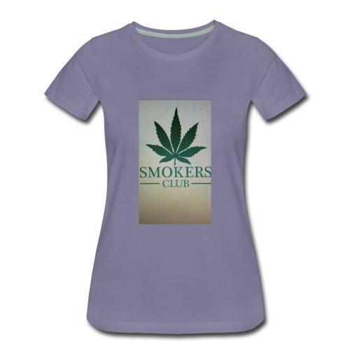 Smokers club - Women's Premium T-Shirt