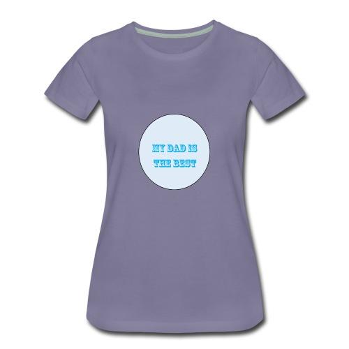 best dad - Women's Premium T-Shirt