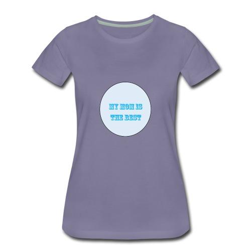 best mom - Women's Premium T-Shirt