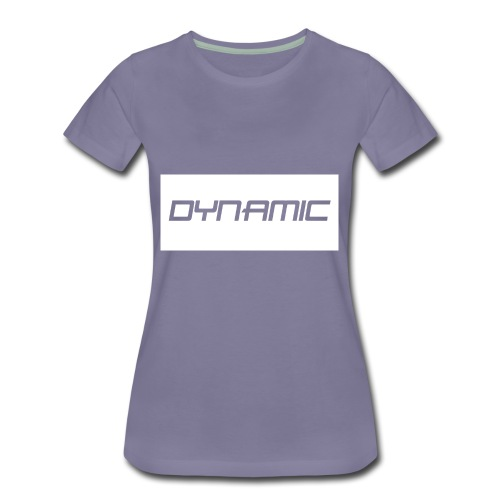 Dynamic Kids White Logo! - Women's Premium T-Shirt