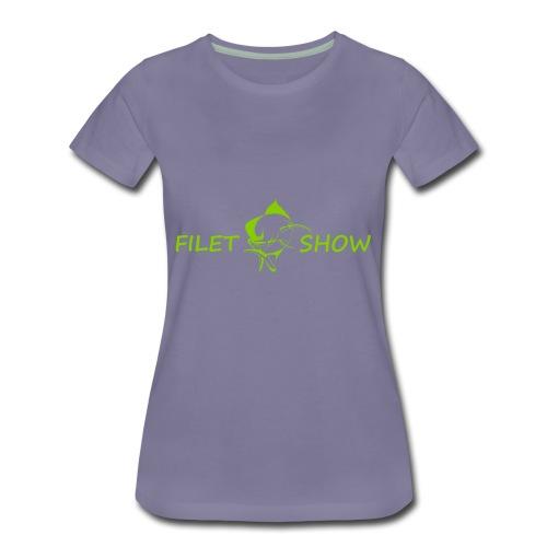 Green_logo_for_shirts - Women's Premium T-Shirt