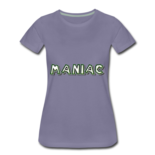 Maniac: Green Glow Edition - Women's Premium T-Shirt