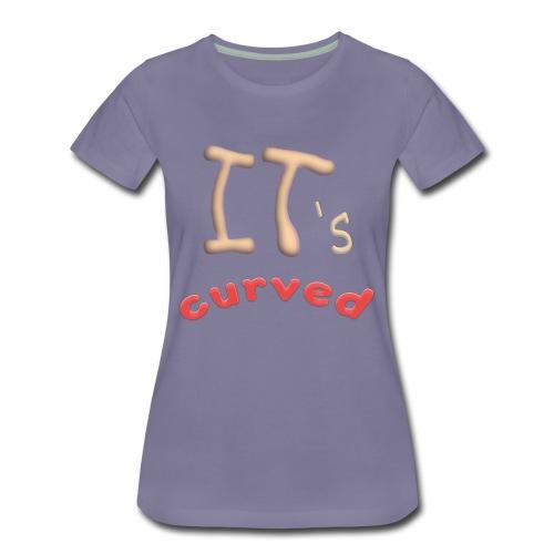 Curved - Women's Premium T-Shirt
