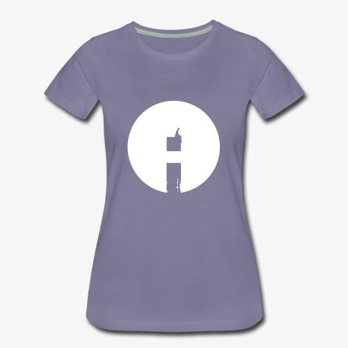 Moon meditation - Women's Premium T-Shirt