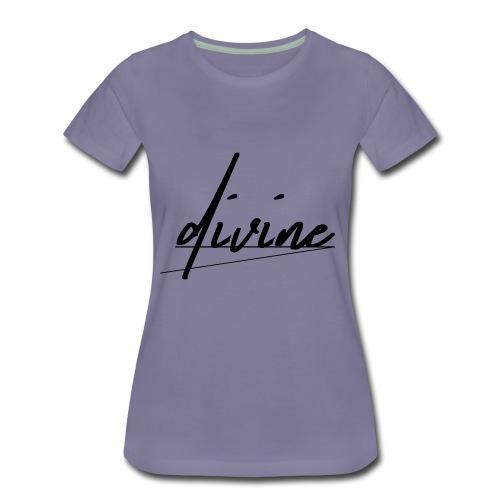 DIVINE_CURSIVE_LINES - Women's Premium T-Shirt