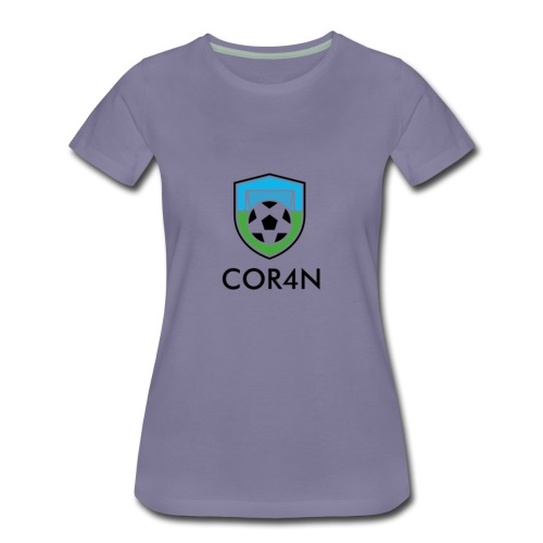 Football/Soccer Design - Women's Premium T-Shirt