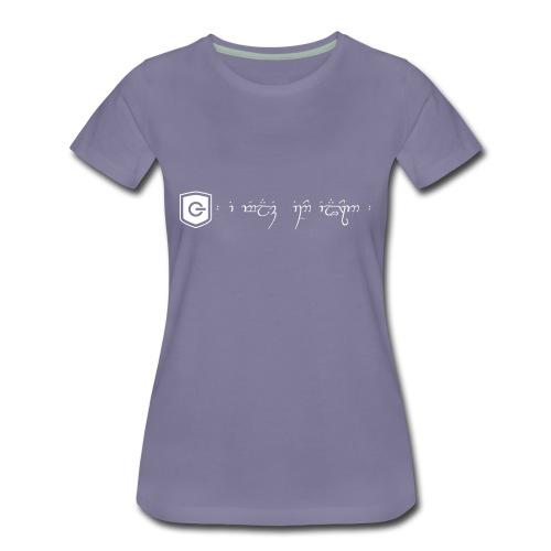 The Loving Heart of an Elf - Women's Premium T-Shirt