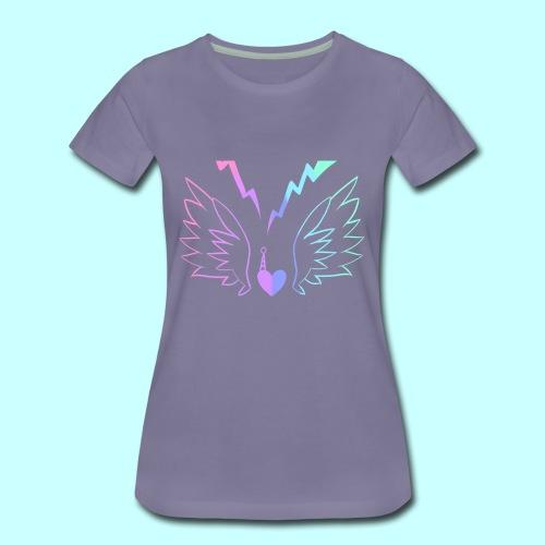 Electric Angel v2 - Women's Premium T-Shirt