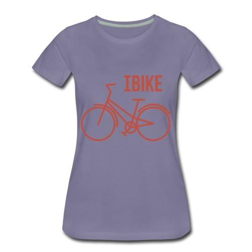 I Bike - Women's Premium T-Shirt