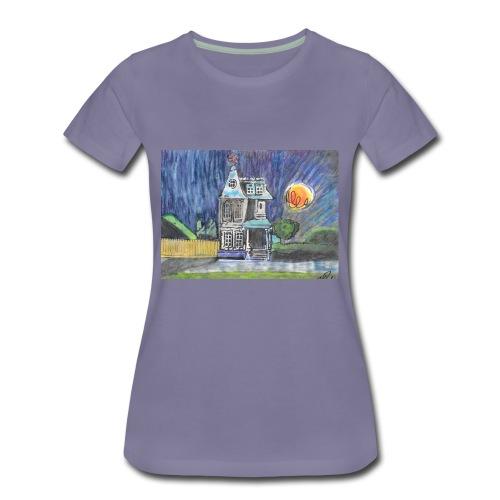 THE PINWHEEL HOUSE - Women's Premium T-Shirt