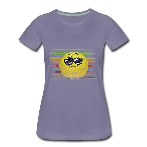 KEEP COOL SMILEY - Women's Premium T-Shirt