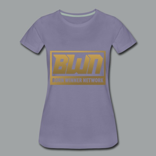 BWN (Gold) - Women's Premium T-Shirt