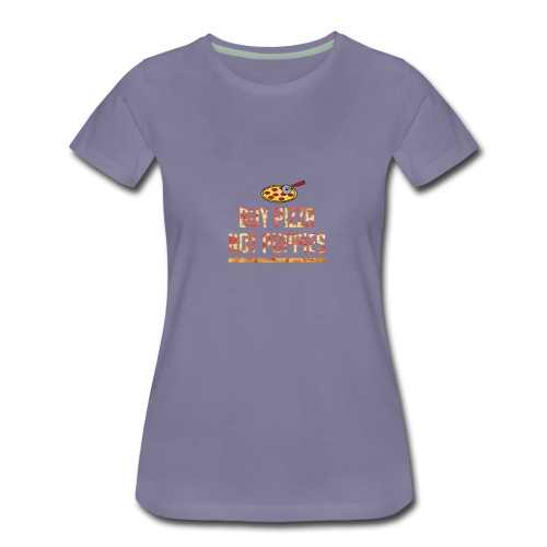 pizza cating - Women's Premium T-Shirt