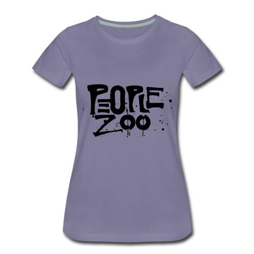 People Zoo Design 1 - Women's Premium T-Shirt