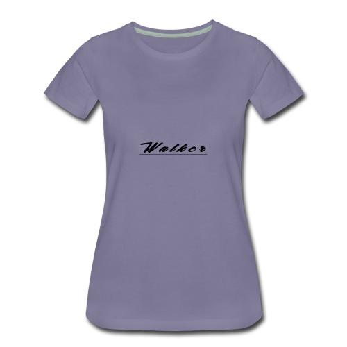 Walker - Women's Premium T-Shirt