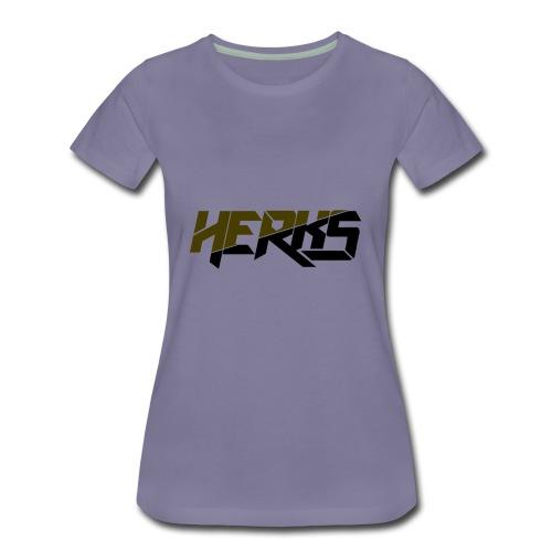 HerKs Military Text - Women's Premium T-Shirt