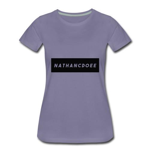 nathancdoee logo - Women's Premium T-Shirt