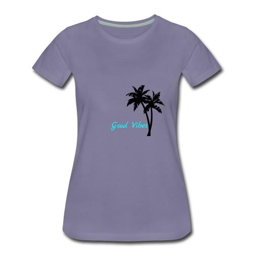 Bailey Does Stuff Merch Blue - Women's Premium T-Shirt