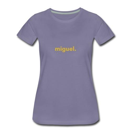 Miguel Shirt Military Gold - Women's Premium T-Shirt