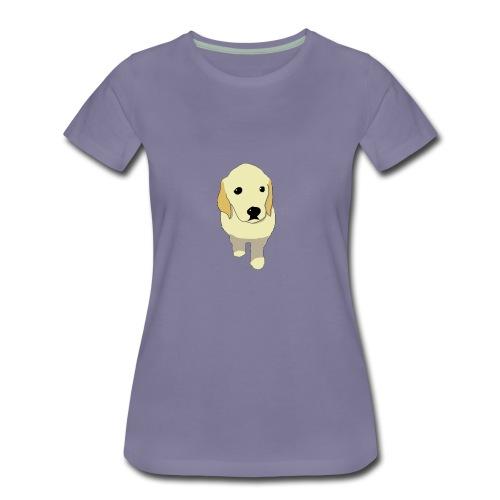 Golden Retriever puppy - Women's Premium T-Shirt