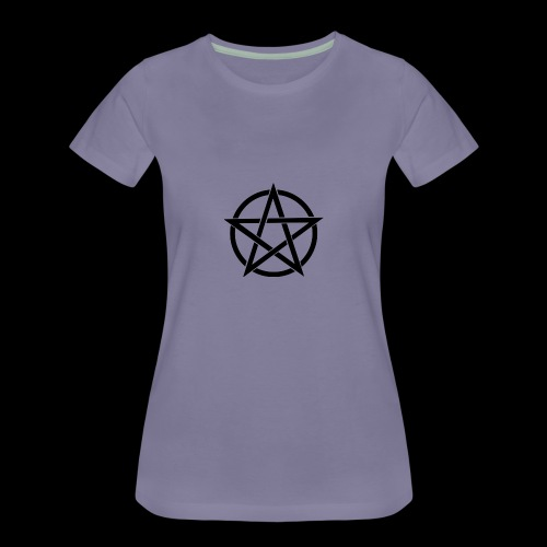 Witches Brew Ejuice Pentagram - Women's Premium T-Shirt