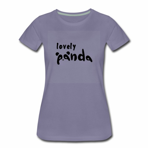 lovely panda - Women's Premium T-Shirt