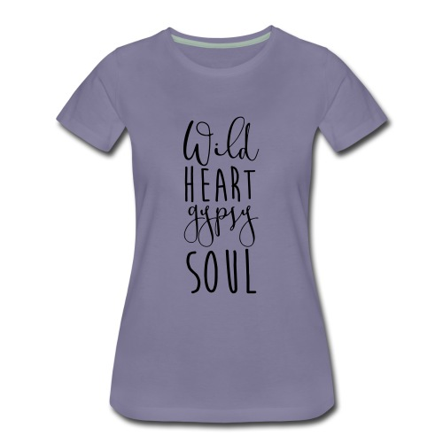 Cosmos 'Wild Heart Gypsy Sould' - Women's Premium T-Shirt